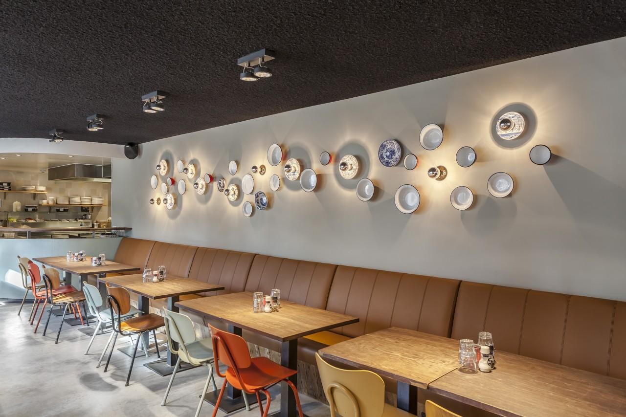 Brasserie NeL Amsterdam Amstelveld open keuken