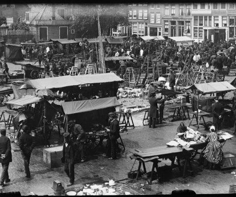 Amstelveld oude foto